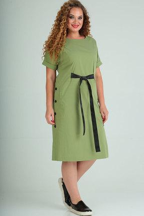 Платье Elga 01-666 салатовый