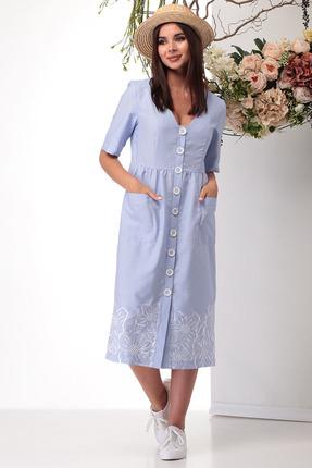 Платье Michel Chic 2004 светло синий фото