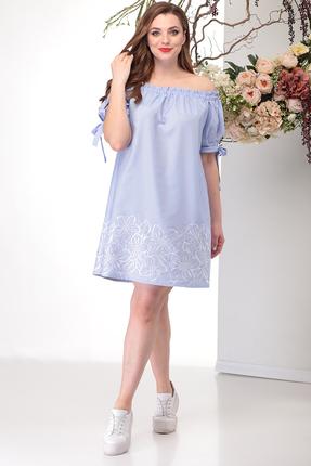 Платье Michel Chic 2005 голубые тона фото