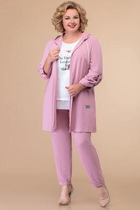 Комплект брючный Svetlana Style 1418 розовый фото