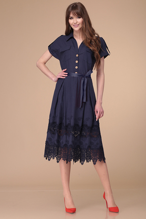 Платье Verita Moda 2001 синий фото