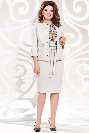 Комплект юбочный Mira Fashion 4783-5 светло-молочные тона фото