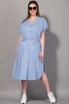 Платье Сч@стье 7063-5 голубой