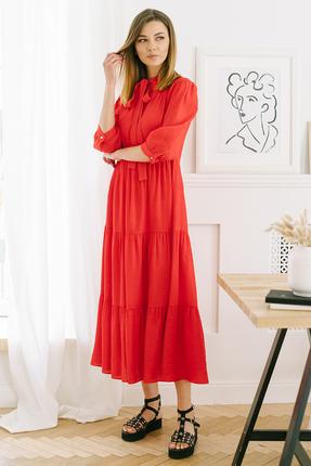 Платье Фантазия Мод 3686 красный