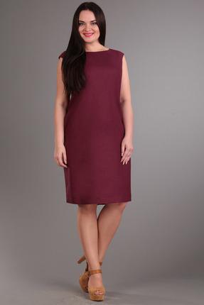 Платье FoxyFox 1801 бордо фото