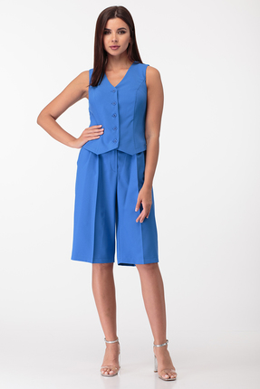 Комплект с шортами Anastasia Mak 728 синий фото