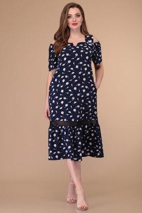 Платье Danaida 1888 темно-синий