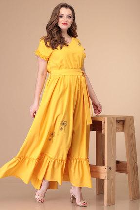 Платье Danaida 1881 желтый