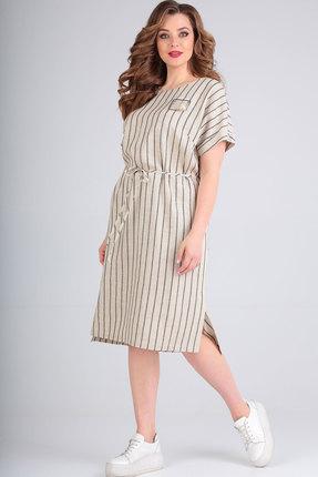 Платье Ришелье 809.1 натуральный