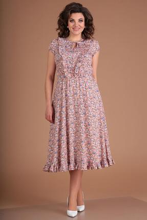 Платье Мода-Юрс 2562 розовые тона