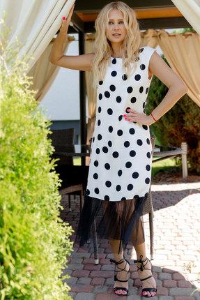 Платье Vesnaletto 2359 белый фото