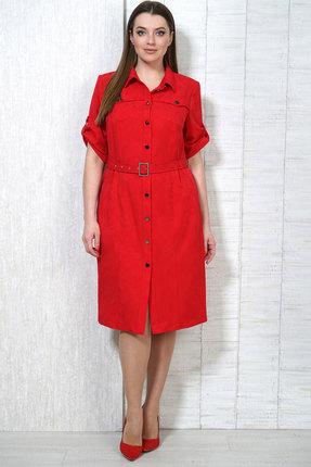 Платье Белтрикотаж 4997 красный
