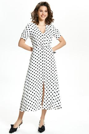 Платье TEZA 1346 молочный
