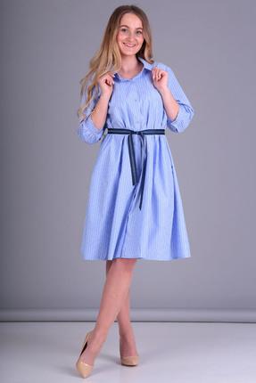 Платье Таир-Гранд 6545 голубой