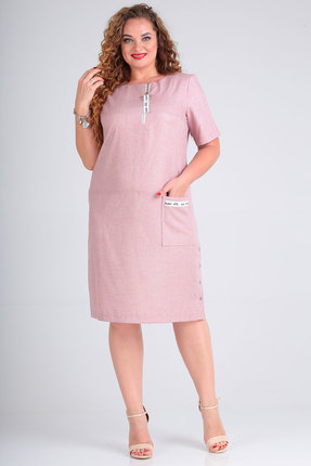 Платье SOVITA 5/602 розовый фото