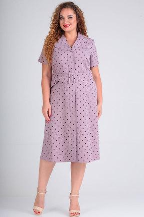 Платье SOVITA 1-349 сиреневый фото