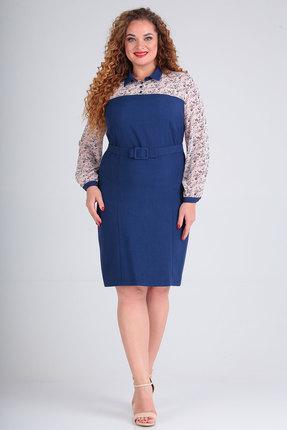 Платье SOVITA 5/577 синий фото
