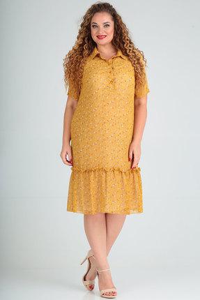 Платье SOVITA 5/583 горчица
