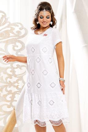 Платье Vittoria Queen 11783 белый фото