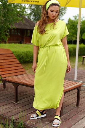 Платье ЛЮШе 2389 лаймовый фото