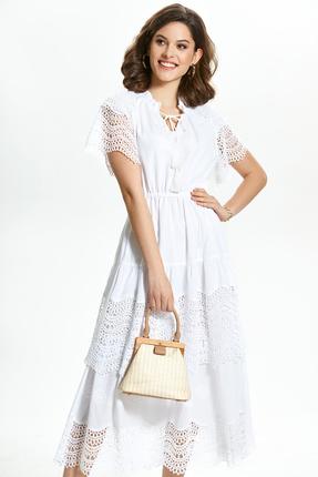Платье TEZA 1358 молочный