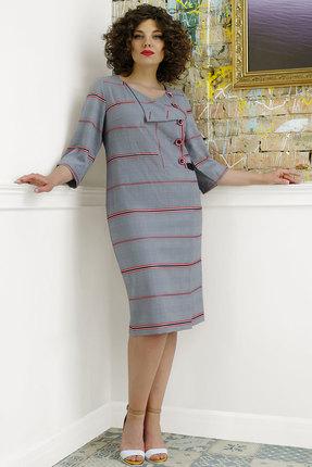 Платье Avanti Erika 989-1 серые тона фото