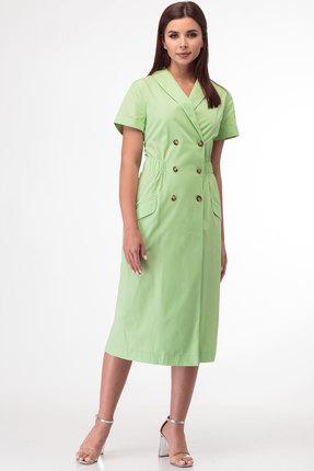 Платье Anelli 854 салатовый