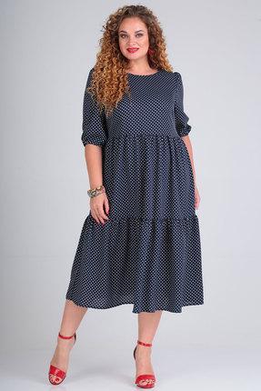 Платье SOVITA 803 синий