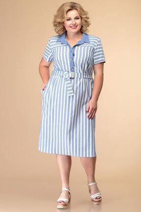 Платье Romanovich style 1-2025 голубой