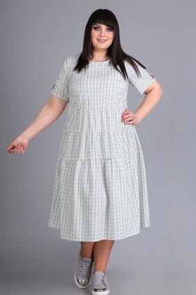 Платье Algranda 3477-1 серые тона