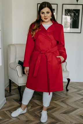 Плащ Olga Style м339 красный