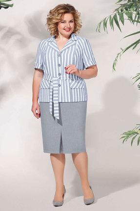Комплект юбочный БагираАнТа 632 серые тона фото