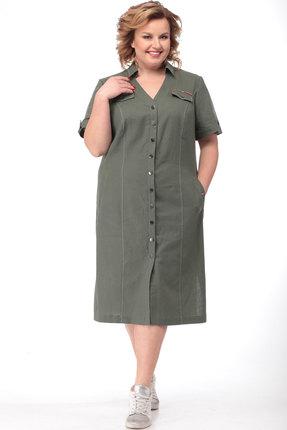 Платье Bonna Image 517 хаки