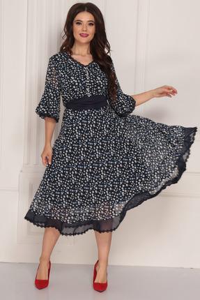 Платье Solomeya Lux 705 синий фото