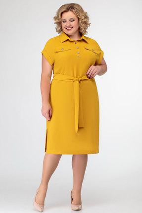 Платье SWALLOW 272 желтый
