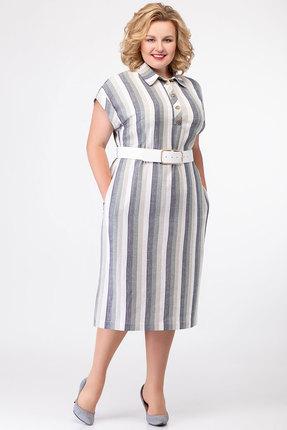 Платье SWALLOW 273 серые тона фото