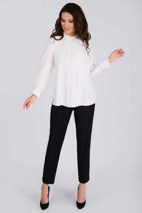 Блузка Teffi style 1480 молочный