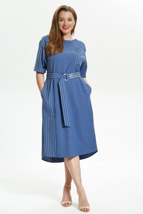 Платье Магия Моды 1719 голубой фото