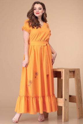 Платье Danaida 1881 оранжевый