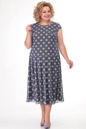 Платье KetisBel 1508 серый