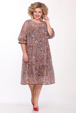Платье Matini 11395 бледно розовый
