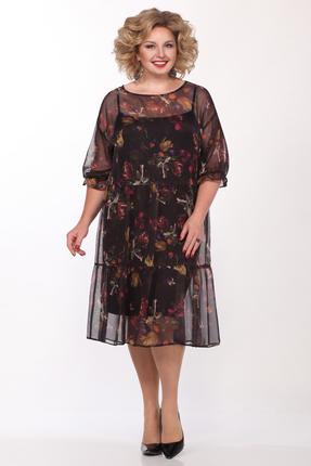 Платье Matini 11395 чёрные тона