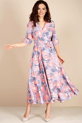 Платье Teffi style 1483 лавандовый
