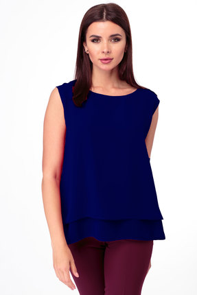 Блузка Anelli 809 синий
