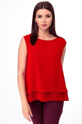 Блузка Anelli 809 красный