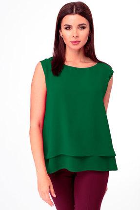 Блузка Anelli 809 зелёный