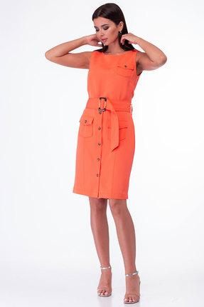 Платье Anelli 850 манго