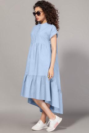 Платье Сч@стье 7067-5 голубой