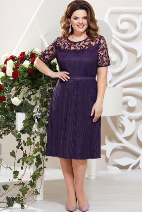 Платье Mira Fashion 4792 тёмно-синий
