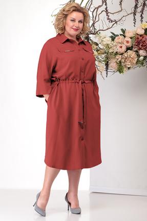 Платье Michel Chic 2010 терракот
